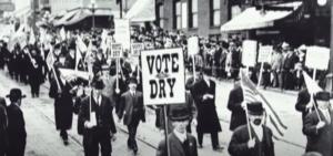 protest against alcohol prohibition US